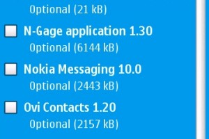 Applications: Whole slew of updates available for your Nokia N97! N-Gage &#8211; Ovi Maps 3.1 &#8211; C: Phone memory fix!