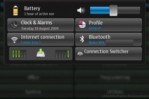 Maemo 5 Screenshot(s) from the Nokia RX-51? Announcement and Mobile-Review's Preview coming soon?