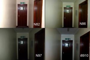 Camera flash test: Nokia N86 vs Nokia N82 vs Nokia N97 vs Samsung i8910