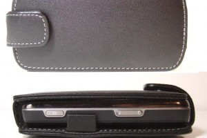 Accessories Review: PDair Black Leather Case for the Nokia N97 (Flip Type)
