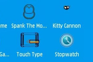 Freeware: 7 free (flash) apps/games for your Nokia N97 &#8211; Stopwatch &amp; Countdown/Pacman/Kitty Cannon/Helicopter Game /Spank The Monkey/Touch Type/Hardest Game in the World