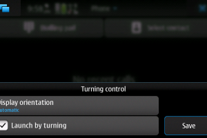 How To: Rotate to portrait to make calls on N900