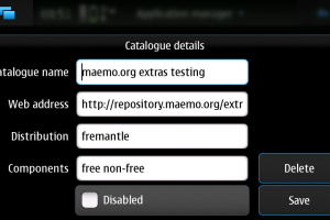 How to: Getting more apps to your N900 &#8211; Adding application catalogues to app manager.