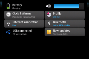 Maemo 5 firmware update available 1.2009.44-1 [new app manager icons]