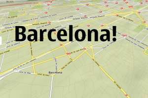 Event: Going to Barcelona for the weekend?!