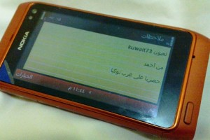Video: Orange Nokia N8 Pinch and Zoom Multitouch WebBrowser (+live pics of orange N8 and HDMI adapter)