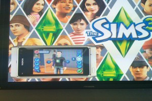 Pic: Sims 3 on the Nokia N8