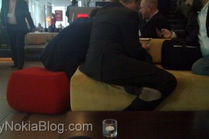 Pics: Nokia N8 spotted at #openmobile summit