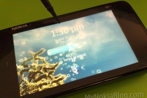 Video: Nokia N900 Theme &#8211; Blue Sky (New icons and transition effects)