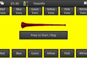 Nokia N900 Vuvuzela App for Maemo 5