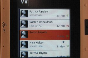 Pics: Sneaky Peek at MeeGo handheld UX