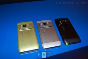 Pics: All the Nokia N8 Colours together! Silver, Blue, Orange, Green and &quot;Black&quot;!