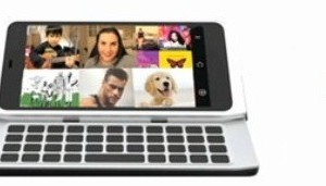Nokia N9 leaked? Has Impossibly thin tilt QWERTY slider and N8ish design!