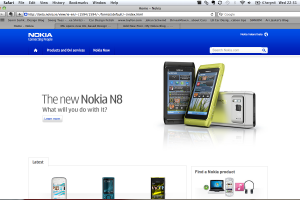 New Nokia website in beta