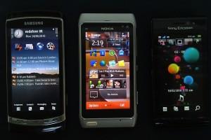 Fight: Nokia N8 vs Samsung i8910 vs iPhone 4 vs Sony Ericsson Satio vs HTC Desire