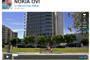 Video showing off Social Networking on Nokia N8