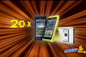 Competition: 20 Nokia N8s to be won with Snickers Austria