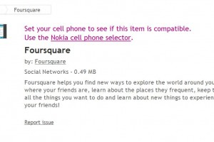 Video: Foursquare for Symbian (demoed on the Nokia N8) Download now from the Ovi Store