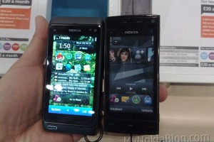 Gallery: Nokia N8 versus: Apple iPhone 4, iPad; BlackBerry Bold, Curve, Torch, Pearl; Dell Streak; HTC Legend, Desire, HD Mini; LG Viewty Smile, Optimus; Nokia X6, C3, E72, 5230; Palm Pre, Pixi; Samsung Galaxy S, Genio, Wave, Monte; Sony Ericsson X10, X10 mini, Zylo and Vivaz