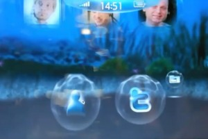 Video: Cool Custom &quot;Bubble&quot; UI for MeeGo on NoteBook/Tablet Lenovo IdeaPad and Nokia N900