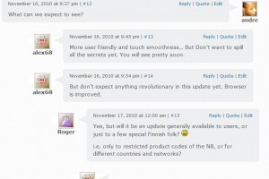 New Firmware for Nokia N8/Symbian^3 PR1.1 coming in a couple of weeks? New Browser?