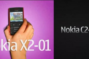 Videos: Nokia X2-01 and Nokia C2-01 (launches today.)
