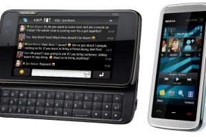 Nokia N900 and Nokia 5530 in Google's top 5 most searched consumer electronics 2010.