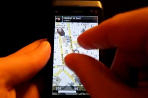 Video: Nokia N8 running new OVI Maps 3.06 (pinch to zoom, public transit line layer, better search and more!)