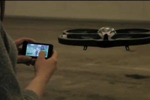 Video: Kate flies AR Drone with N900 at MeeGo Finland meetup