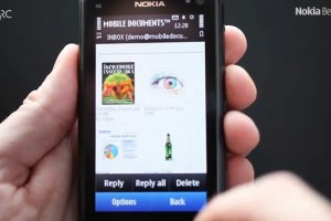 Video: Mobile Documents beta for Symbian^3 &#8211; Cloud boosted push email at Nokia Beta Labs!