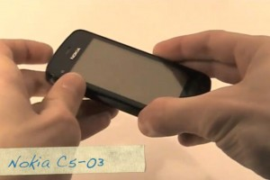 Video: Nokia C5-03 Hands on