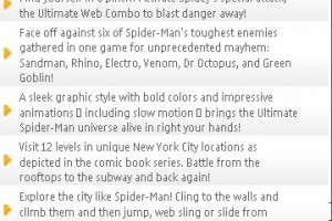 Spider-Man: Total Mayhem HD available for Symbian^3 from Gameloft