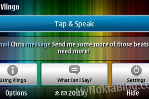 Video: Vlingo Plus voice to text control demoed on Nokia N8 – Free at Ovi Store