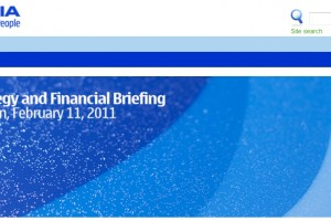 February 11th 2011 is here. Nokia Strategy and Financial Briefing at Capital Markets Day.