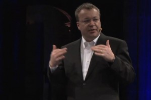 Stephen Elop interview at D9
