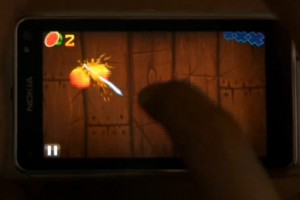 Video: Awesome Fruit Ninja available at Ovi Store, demoed on Nokia N8