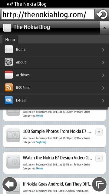 جديدة للتحديث المنتظر لاجهزة (Symbian^3)