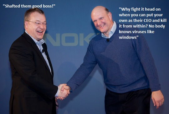 "Winners and Losers of the Nokia-Microsoft ""alliance"""