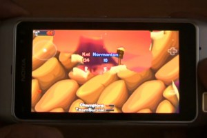 Video: Worms HD demoed on the Nokia N8