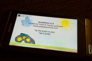 Download Qt Game, DoodleDrive alpha for Symbian and Maemo