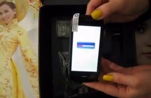 بالفيديو الصندوق لجهاز الملقد الصين