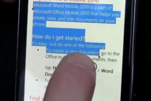 Video: WP7 NoDo updates – Copy paste demo on Windows Phone 7