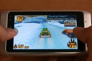 Video: Burning Tires 3D (racing game) on Nokia N8 available at Ovi Store