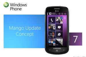 Concept: Windows Phone 7 Mango Update Concept
