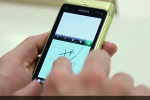 Video: Qt Nokia Diexie 诺基亚叠写 from Nokia Beta Labs for Symbian^3 and S60 5th Edition