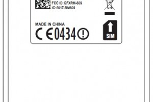 Nokia E6 &#8211; Nokia RM609 gets FCC approval