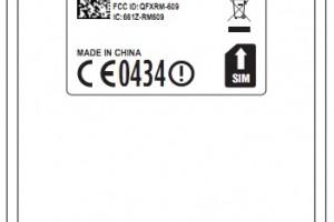 Nokia E6 – Nokia RM609 gets FCC approval