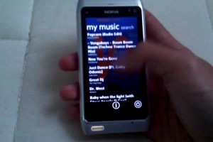 Video: Windows Phone Metro Style on Nokia N8 – Lyrics in Qt for Symbian^3
