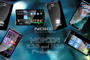 My Dream Nokia #N26: Nokia W10 and Nokia X10, Windows or Symbian with 720p screen, 15MP, 2Ghz Quadcore and 4G