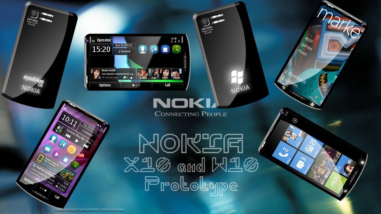 Nokia X10 & W10 Prototype